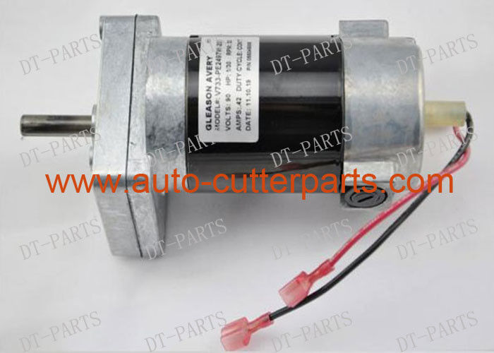 Black Cylindrical Cutter Spare Parts Motor Geared Paper-Tk-Up  V733-Pe2497w-205 To Gerber Plotter Ap320 55045