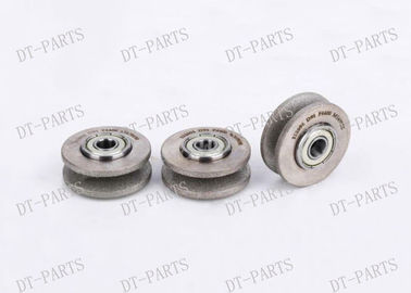 China Grey Auto Cutter Parts Pie Shaped Grinding Wheel For Vector 5000 703410 distributor
