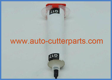 China Plastic Hose Vector 7000 Cutter Parts White Kluber Lubricating Oil G17 30cc To Lectra Cutter Machine distributor