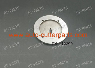China SIlver Vector 5000 Cutter Parts Round Alloy Bottom Cover Of Cutter Head 112090 For Lectra Cutter Machine factory