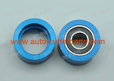 China Blue Vector 7000 Cutter Parts Round Metal Pulley Assy 6008LB For Lectra Auto Cutter Machine distributor